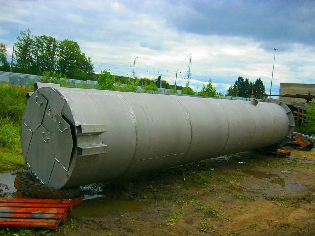 КНС диаметром 2 м из нержавеющей стали