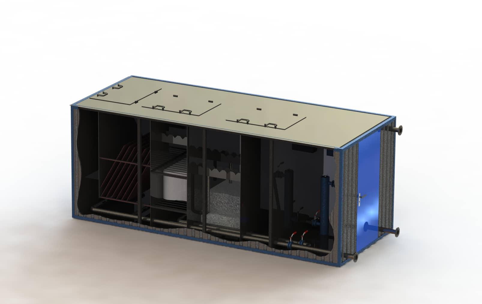 Очистное сооружение Свирь-5БМ