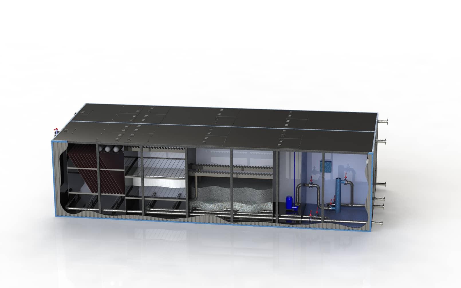 Очистное сооружение Свирь-40БМ