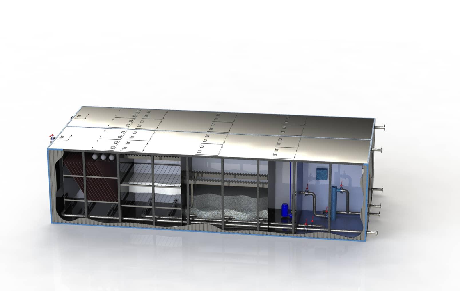 Очистное сооружение Свирь-50БМ