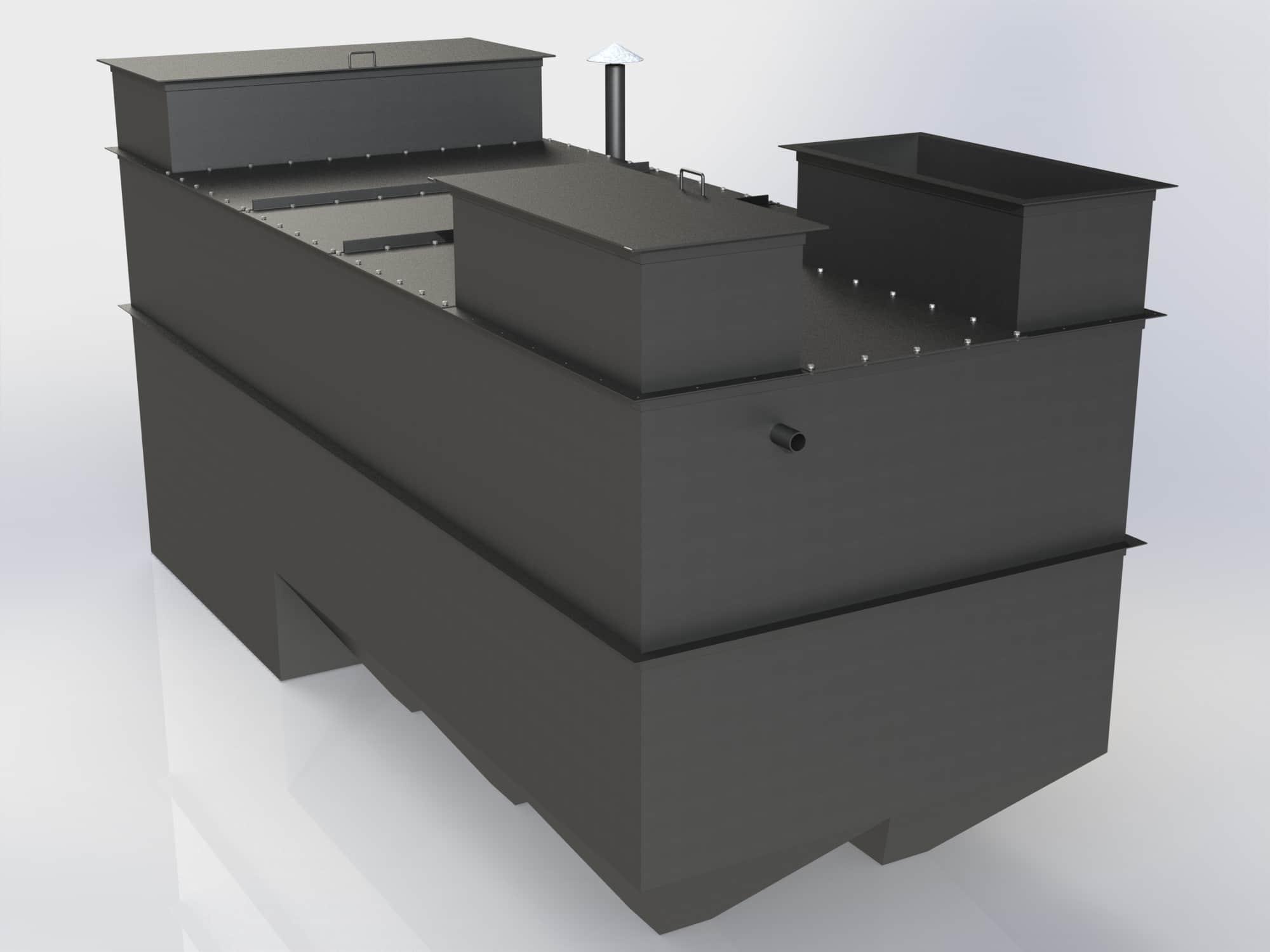 Очистное сооружение Свирь-15