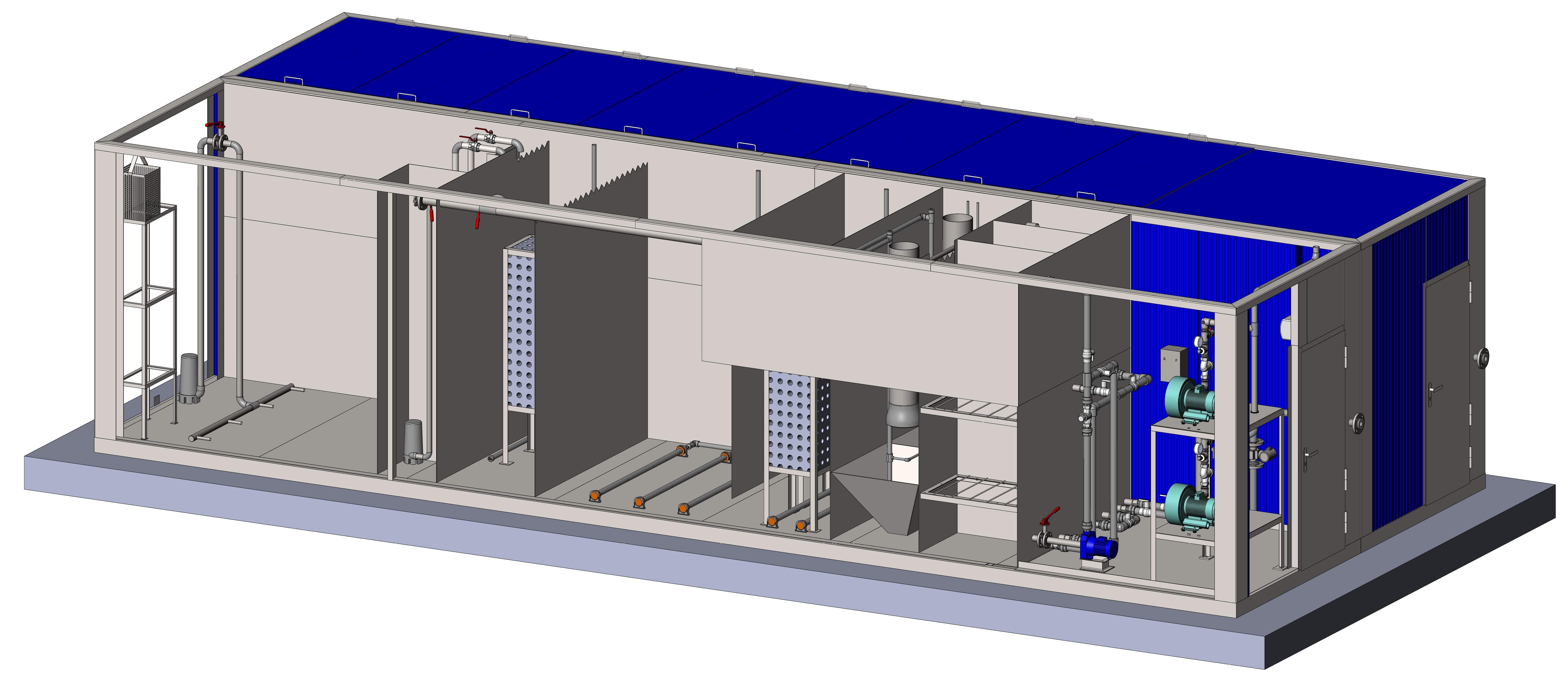 Очистное сооружение Тверь-100БМ