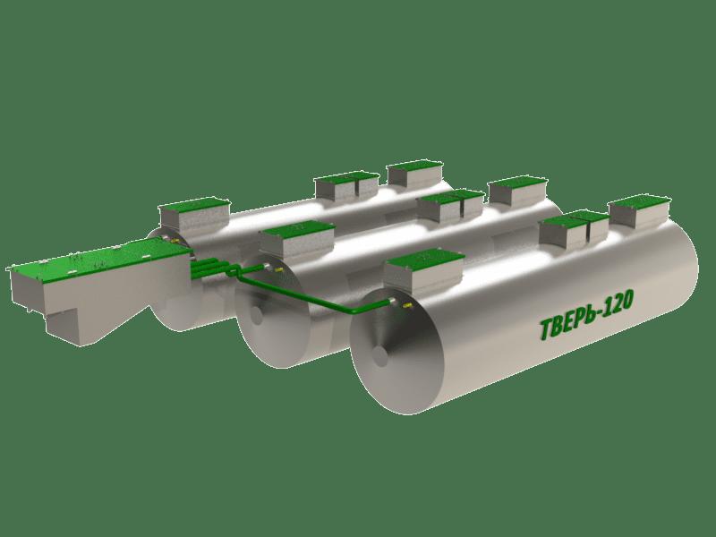 Очистное сооружение Тверь-120